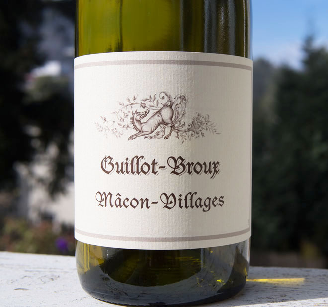 Wine of the Week: Guillot-Broux 2012 Macon-Villages