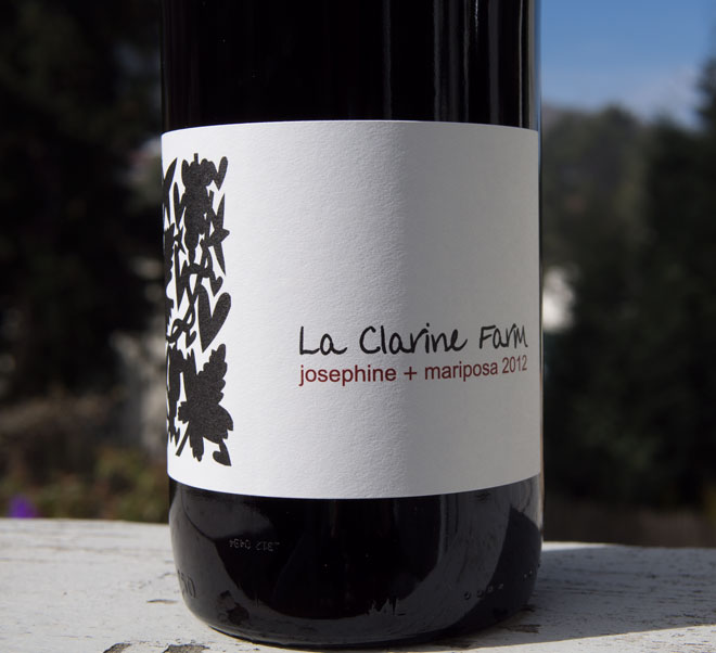 "Wine of the Week: La Clarine Farm ""Josephine+Mariposa"" Red Blend"