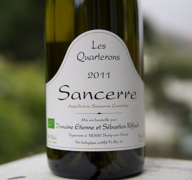 "Wine of the Week: Sébastien Riffault 2011 ""Les Quarterons"" Sancerre"