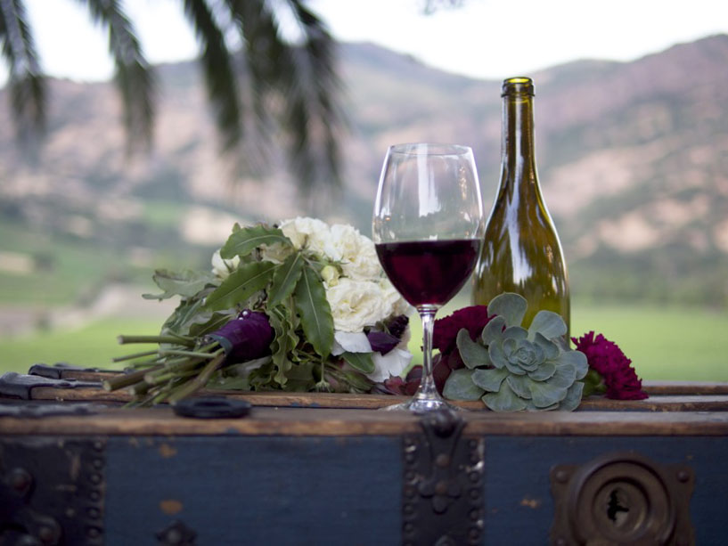 Organic wine for weddings