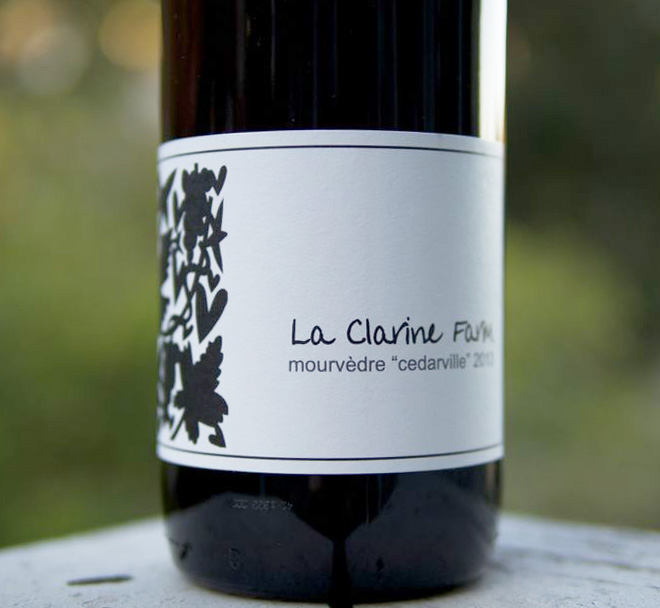 La Clarine Farm Cedarville Mourvèdre is back, and more!