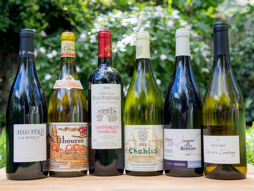 Introducing our Spring '15 Wine Club Selections
