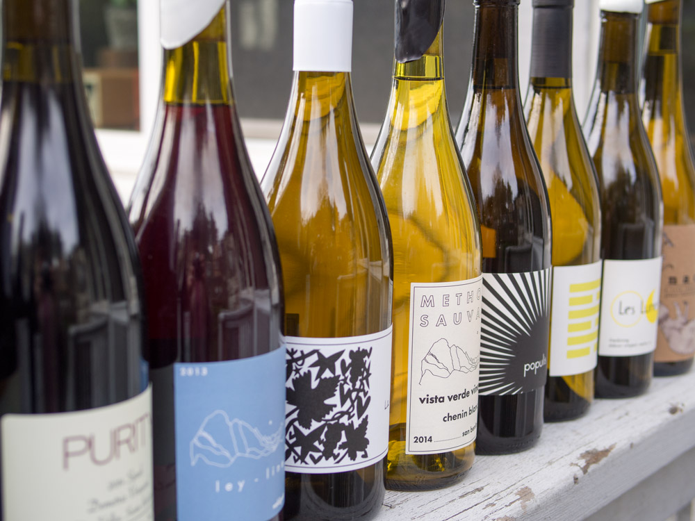 New Wave Natural Wines from California Now Available